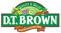 D.T. Brown Seeds discount code