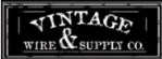 Vintage Wire & Supply discount code